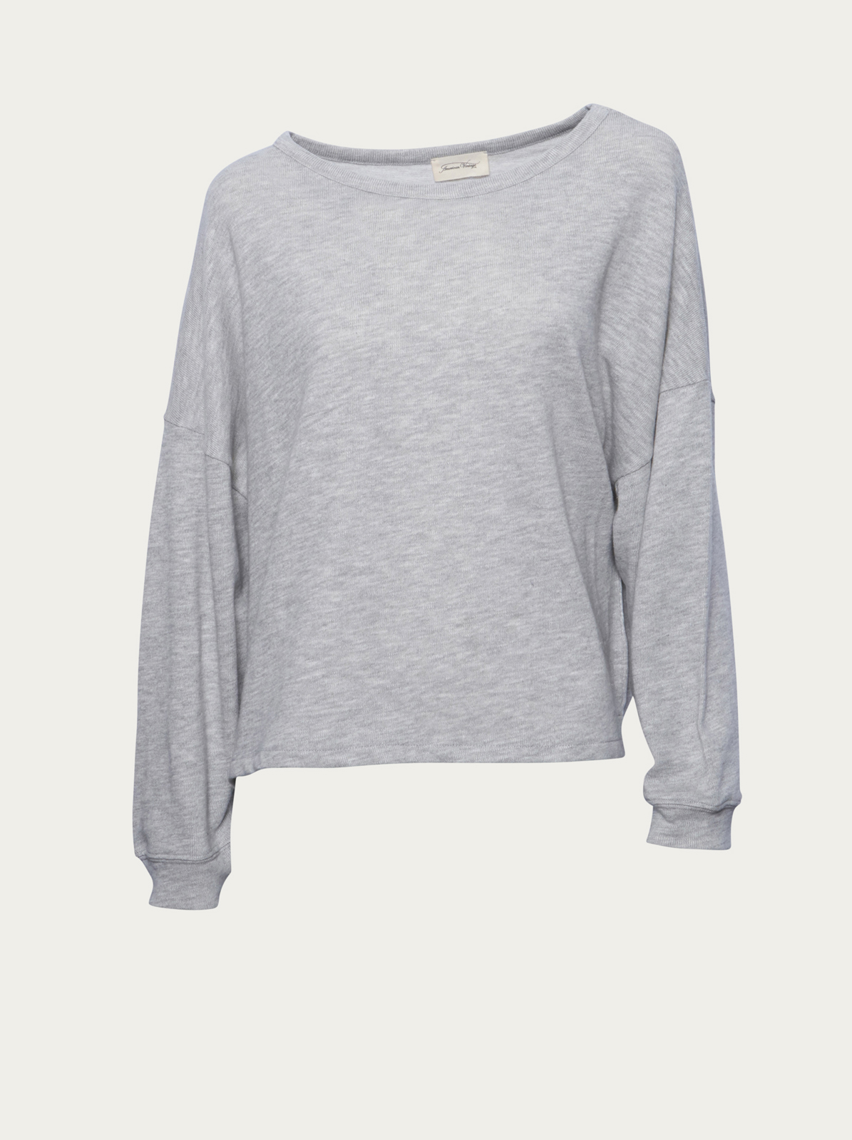 Adidas Originals Sweatshirt »oversized Sweat« Grau-meliert