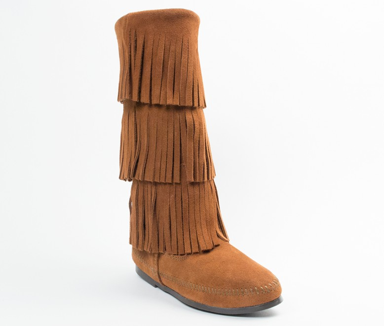 Layer Fringe Boot | Minnetonka Moccasin