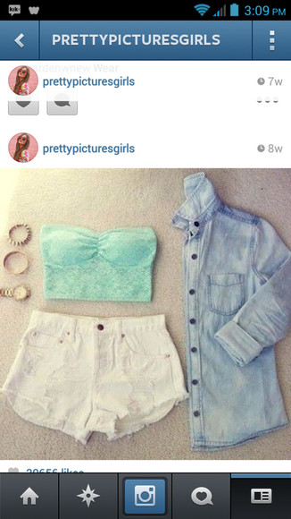 shorts jacket shoes denim denim shirt blouse denim blouse