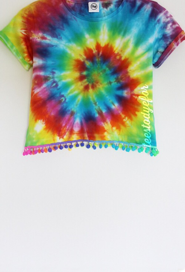 tank top hippie multicolors