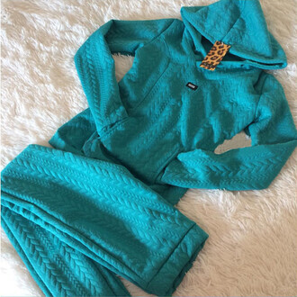 sweater set 2 piece set women tracksuit warm warm sweater girly knitwear knitted sweater hoodie matching set sportswear sporty sports pants sports leggings outfit outfit idea fall outfits tumblr outfit winter outfits urban mint