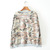 Wholesale Camouflage Pattern Geometric Print Loose-Fitting Cotton Color Matching Sweatershirt For Women (AS THE PICTURE,ONE SIZE), Hoodies & Sweatshirts - Rosewholesale.com