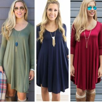 dress amazing lace casual dress blue red green