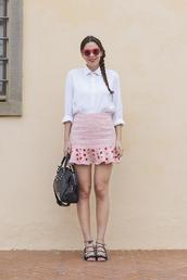 irene closet,blogger,skirt