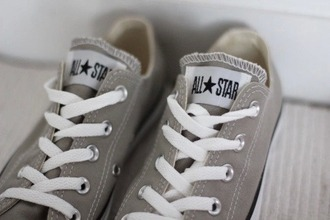 shoes converse all stars grey shoes