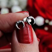 jewels,shop dixi,sterling silver,earrings,studs