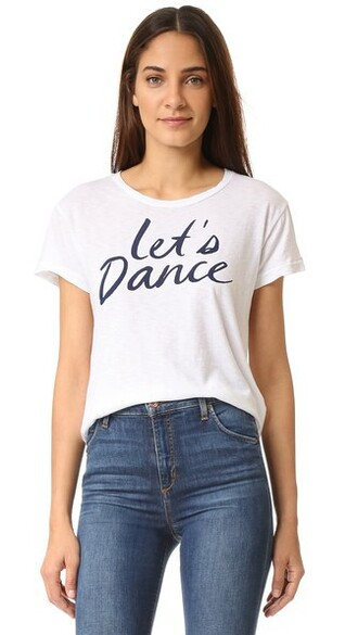 dance white top