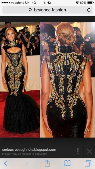 beyonce grammys dress couture dress couture