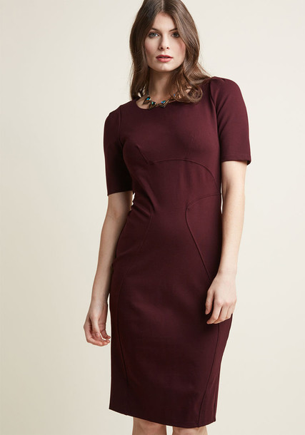 Modcloth dress classic red