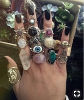 jewels,knuckle ring,ring,rings and tings,boho