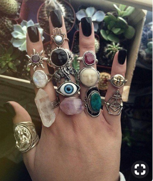 jewels knuckle ring ring rings and tings boho