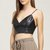 Pleather Cami X-Back Crop Top