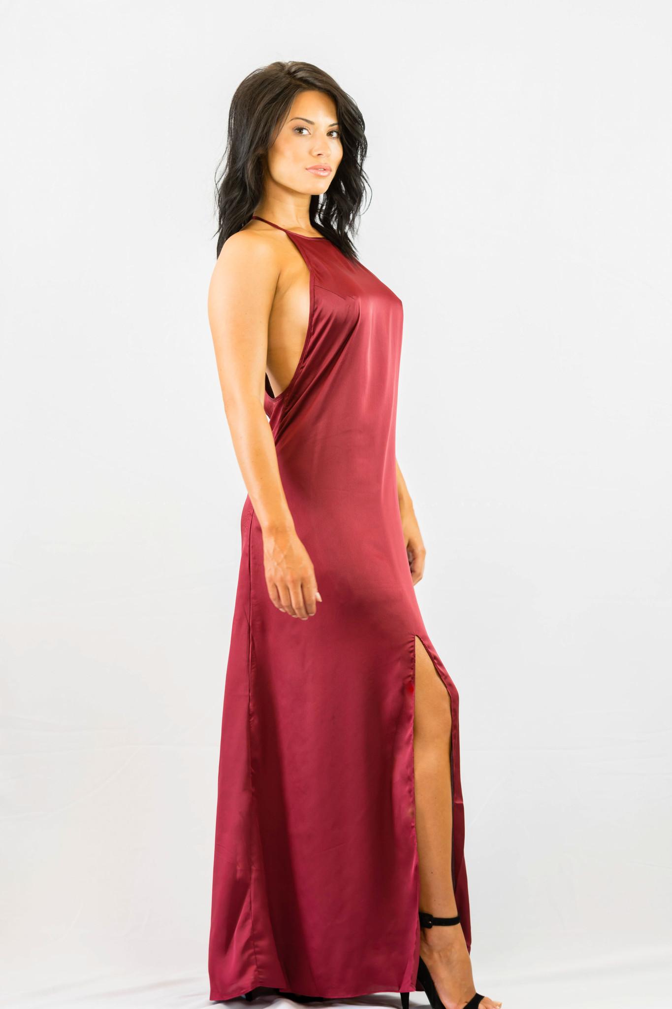 WYLDR Elegance Maxi Dress - Wine