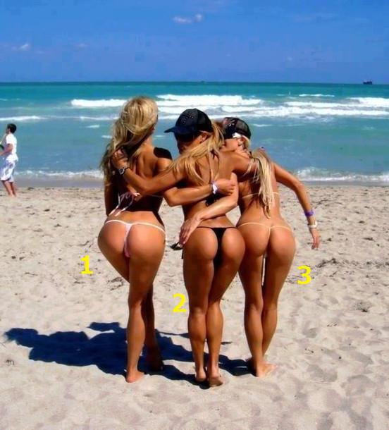 G String Bikini Bottoms