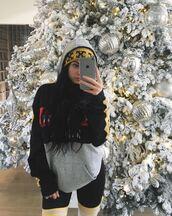 sweater,beanie,kylie jenner,instagram,kardashians,hoodie,hat