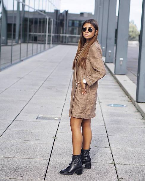 shoes boots heel boots leather boots blazer dress sunglasses