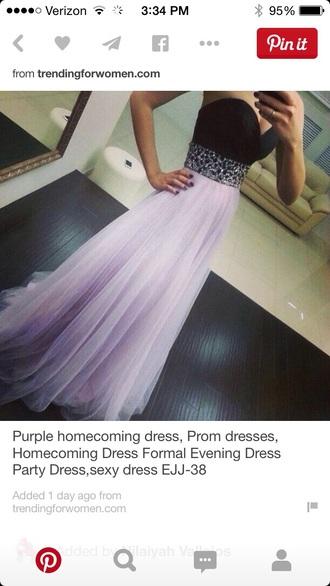 dress purple prom prom dress chiffon