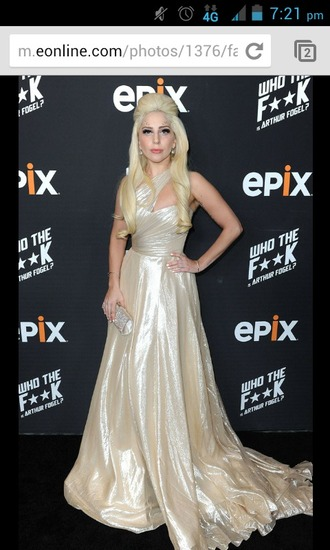 lady gaga beautiful ball gowns prom dress silk ball gown dress grammys
