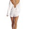 Vitamin a swimwear solana romper eco linen white