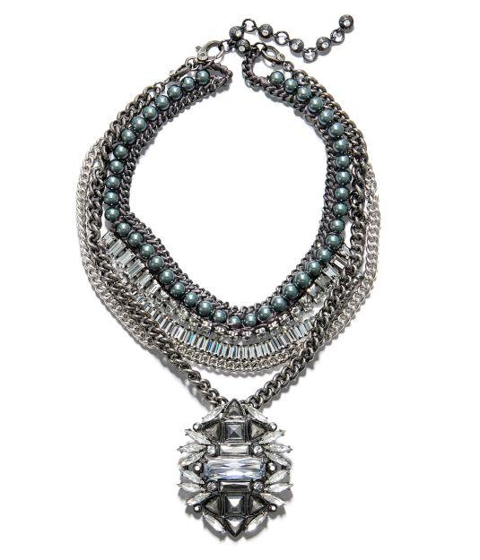 Scarlett Crystal Bib Necklace | New Arrivals | Henri Bendel