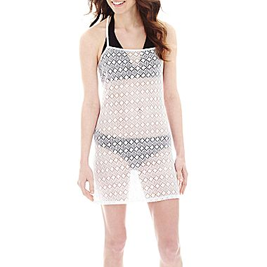 jcpenney | Arizona Crochet Racerback Cover-Up Dress