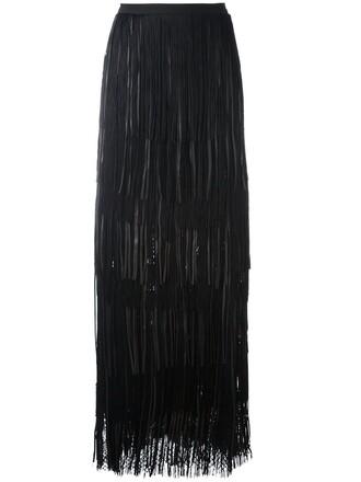 skirt pleated skirt pleated mesh black