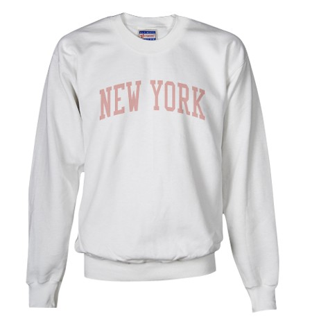 Vintage New York City Pink Sweatshirt by tshirt_tshirts