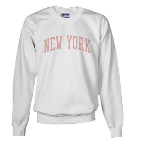 Vintage New York City Pink Sweatshirt by tshirt_tshirts