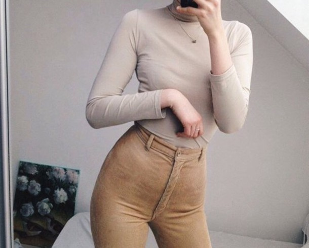 pants cord cord trousers jeans camel