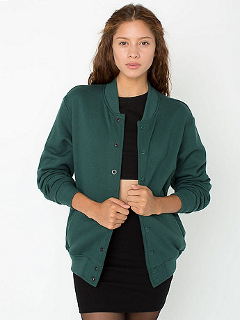 Unisex Flex Fleece Club Jacket | American Apparel