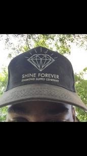 hat,diamond supply co.,street,urban,vintage,grunge,black,black hat,mens cap,cap