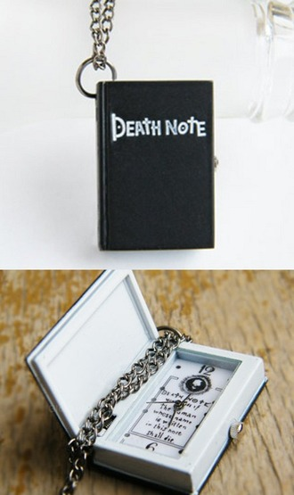 jewels death note necklace