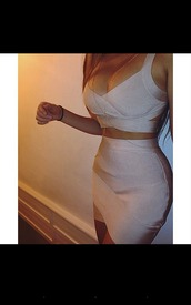 dress,two piece dress set,crop tops,bodycon,pencil skirt,bralette,bandeau,summer dress,summer outfits,spring dress,spring outfits,cute dress,girly dress,girly,cute,date outfit,birthday dress,clubwear,club dress,bodycon dress,two-piece,bandage dress