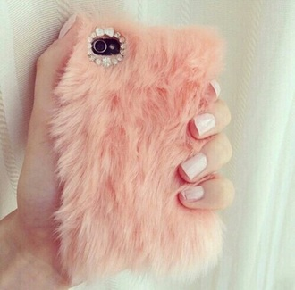 phone cover fluffy iphone cover
