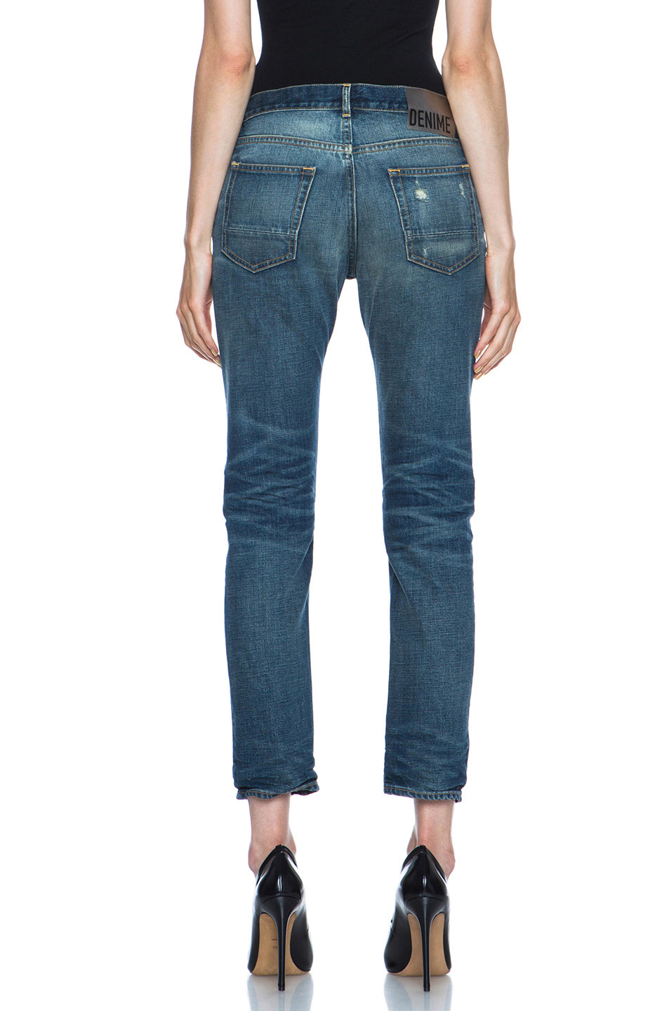 Jeans medium wash in blue
