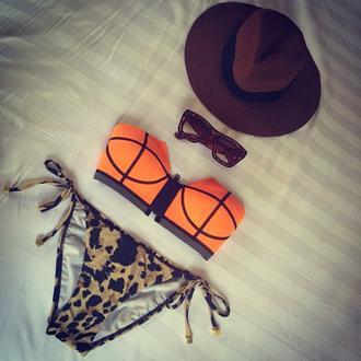 hat brown brown hat