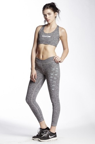 leggings grey leggings workout workout leggings gym sports bra sportswear grey pants nike shoes nike black sneakers