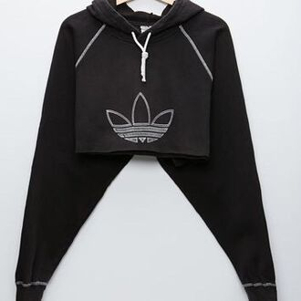 sweater adidas sportswear sport top tumblr weheartit cool grunge adidas hoodie adidas originals adidas crop top