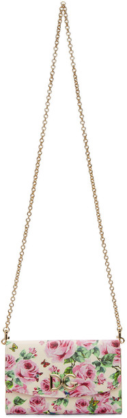 Dolce and Gabbana rose bag chain bag pink