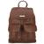 Rowallan - Scotland 'Loreto' Brandy Leather Small Backpack 31-7747-BRANDY | pureluxuries.com