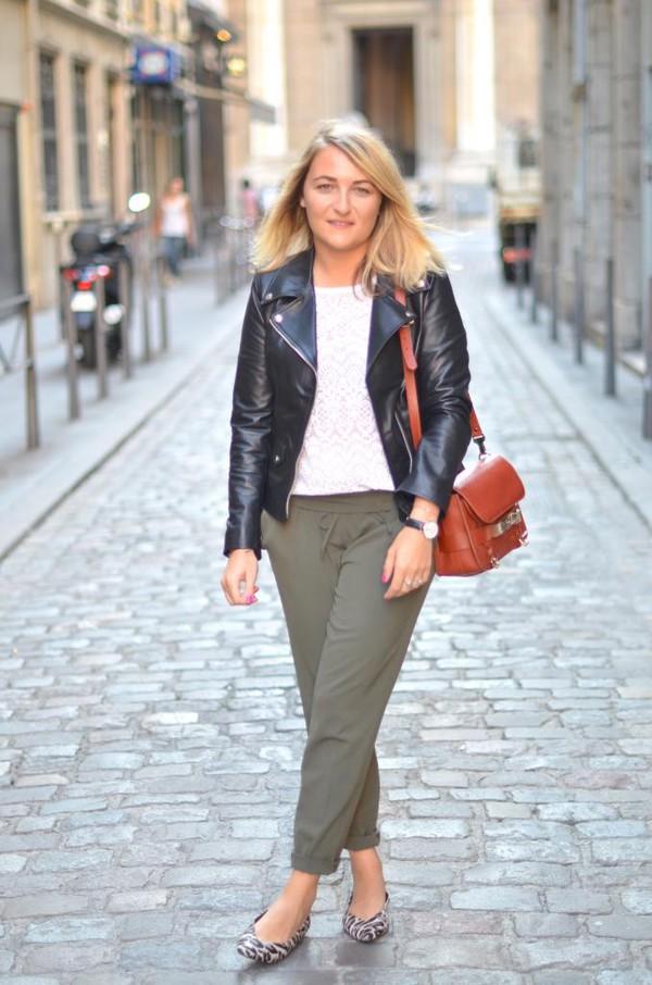 paris grenoble blogger jacket blouse