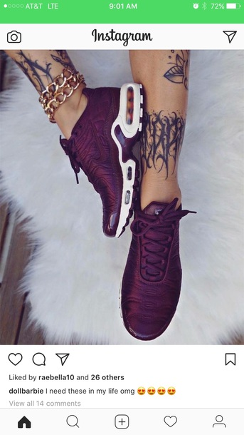 shoes burgundy women s nike air max plus s 22bc42f4ae