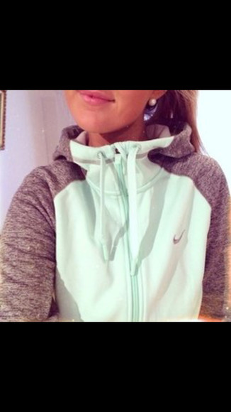 jacket sportswear hoodie women's hoodie grey