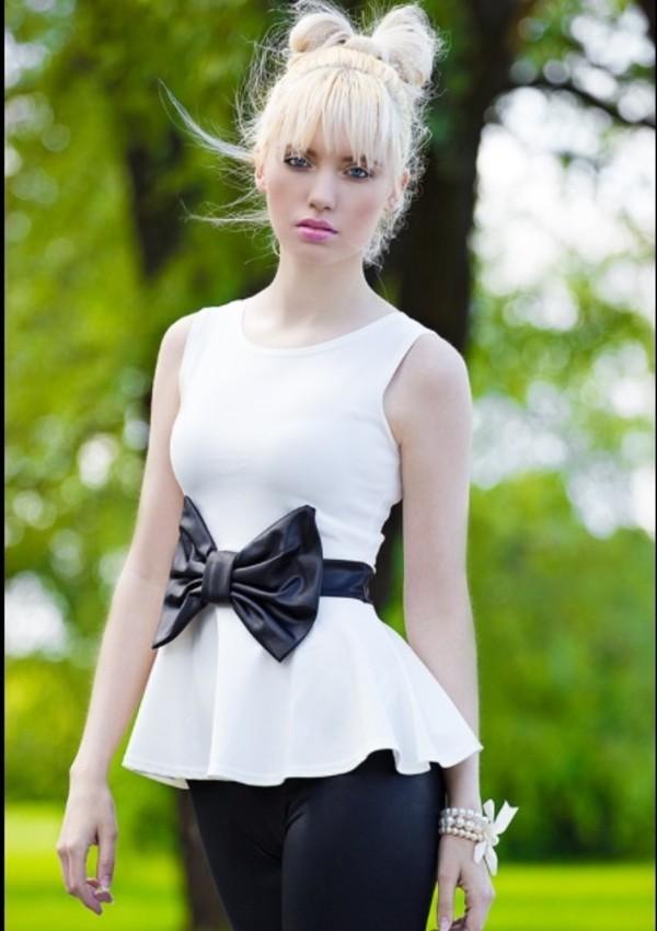 blouse peplum blouse
