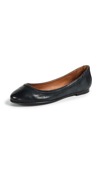 Frye Carson Ballet Flats in black