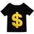 ROMWE | Dollar Sign Print T-shirt, The Latest Street Fashion