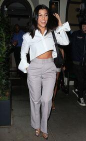 shoes,kourtney kardashian,white,shirt,pumps,kardashians,celebrity