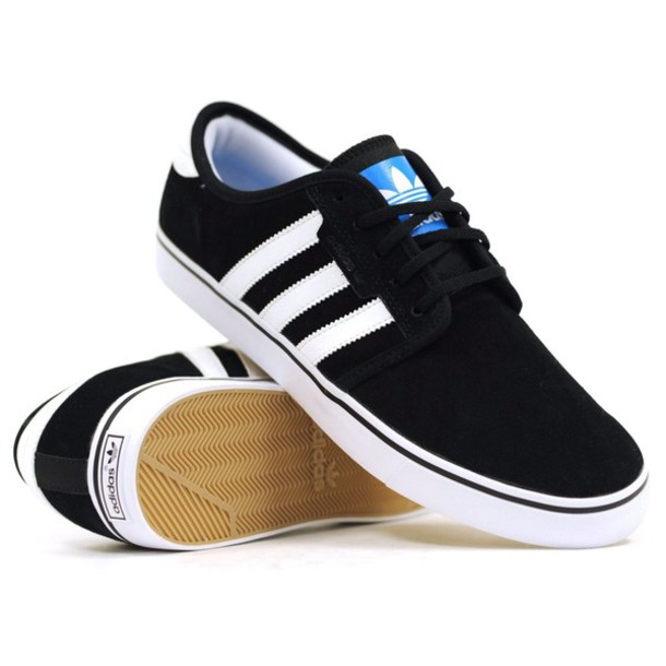 shoes black shoes white white shoes stripes swag skater skate shoe adidas  shoes adidas fashion unisex