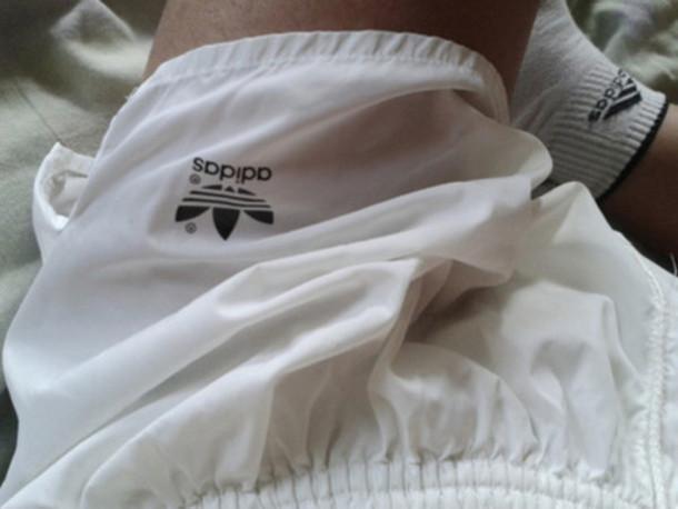 shorts adidas white black pale grunge pale grunge tumblr