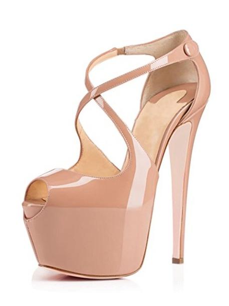 48b8b28886c3 shoes tan heels platform shoes platform high heels cream heels tall strappy  white pump platforms